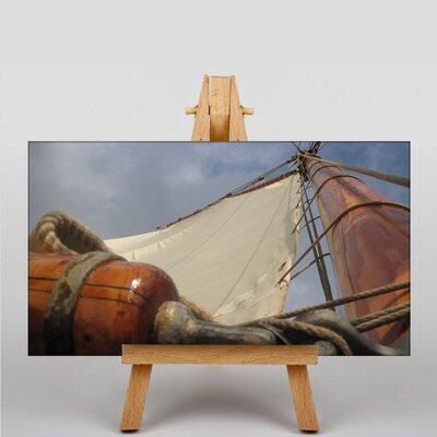 Big Box Art Sailing Ship No.5 Photographic Print on Canvas