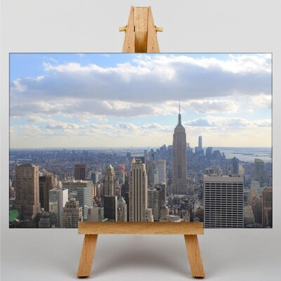 Big Box Art New York City Skyline USA No.12 Photographic Print on Canvas