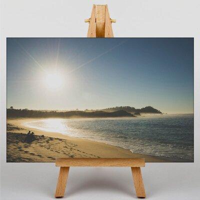 Big Box Art Sunrise Beach Photographic Print on Canvas