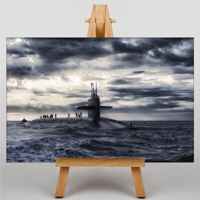 Big Box Art Submarine No.2 Photographic Print on Canvas