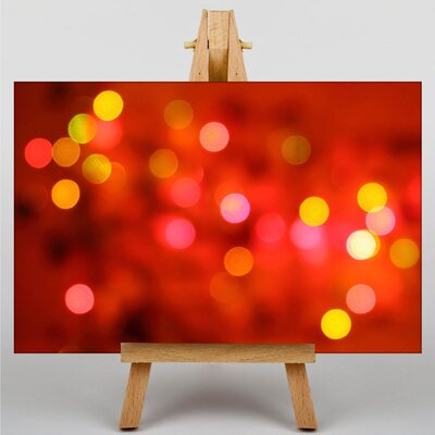 Big Box Art Blurred Fairy Lights Abstract No.1 Graphic Art on Canvas