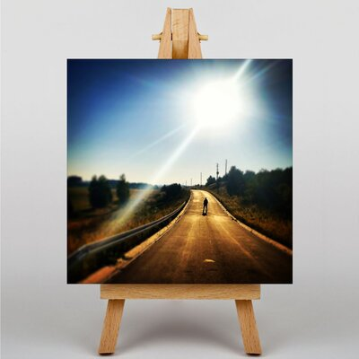 Big Box Art Road No.4 Photographic Print Wrapped on Canvas