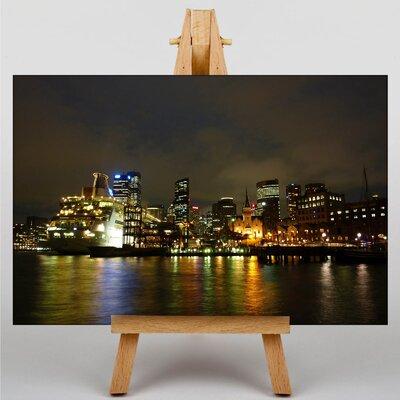 Big Box Art Sydney Harbour Australia No.9 Photographic Print Wrapped on Canvas