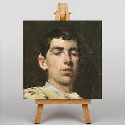 "Big Box Art ""Self Portrait"" by Ramon Casas i Carbo´ Art Print Wrapped on Canvas"