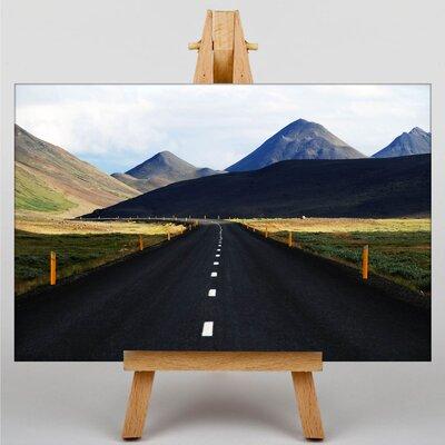 Big Box Art Road Iceland Photographic Print on Canvas