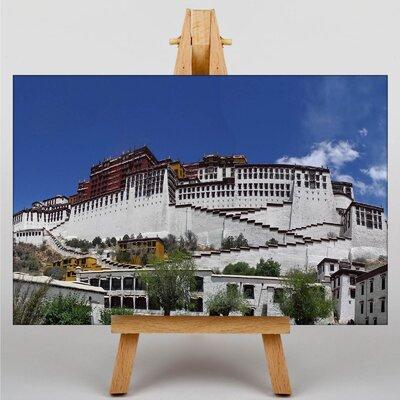 Big Box Art Potala Palace Llasa Tibet Photographic Print Wrapped on Canvas