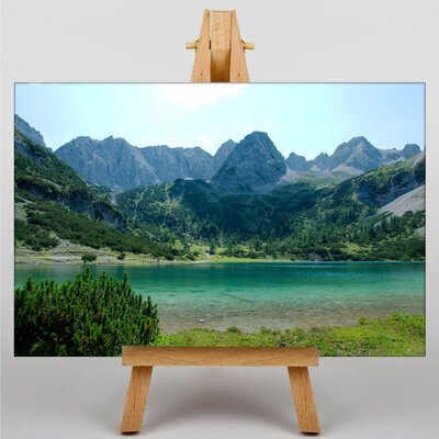 Big Box Art Seebensee Mountain Photographic Print on Canvas