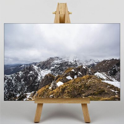 Big Box Art Mountain Tops Photographic Print on Canvas