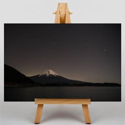 Big Box Art Mount Fuji Mountain No.1 Photographic Print Wrapped on Canvas