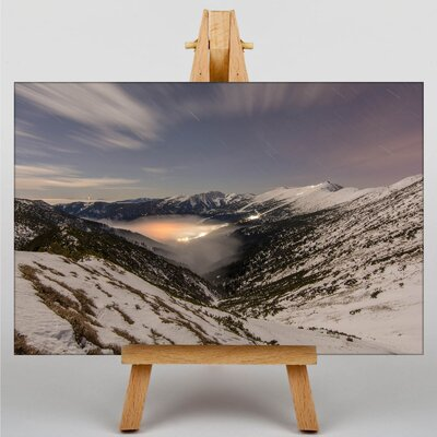 Big Box Art Mountains Slovakia Photographic Print Wrapped on Canvas