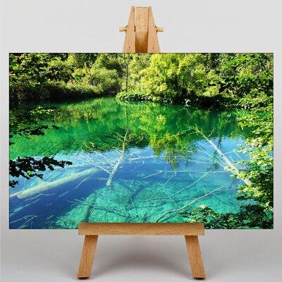 Big Box Art Plitvice Lakes Croatia No.3 Photographic Print on Canvas