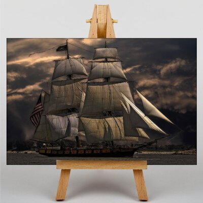 Big Box Art Sailing Ship No.1 Photographic Print on Canvas