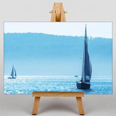 Big Box Art Sailing Boats Photographic Print on Canvas