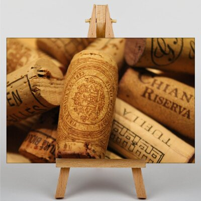 Big Box Art Wine Corks No.1 Photographic Print on Canvas