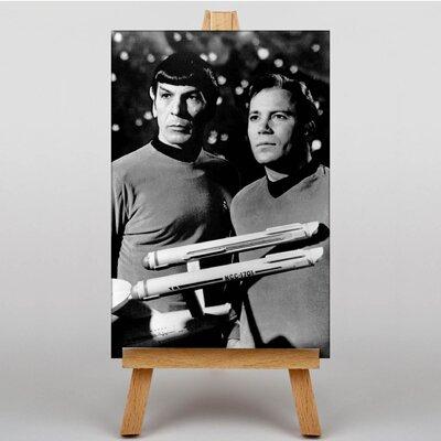 Big Box Art Star Trek Leonard Nimoy Memorabilia on Canvas