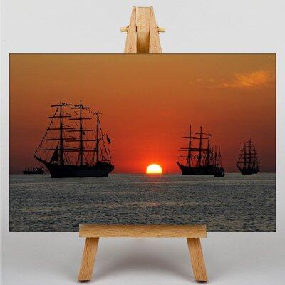 Big Box Art Sailing Ship No.2 Photographic Print on Canvas