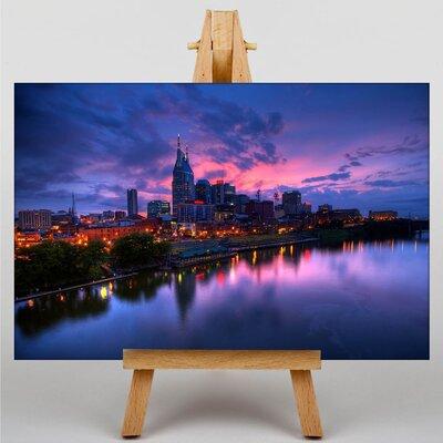 Big Box Art Nashville Tennessee Skyline USA Photographic Print on Canvas