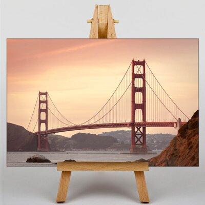 Big Box Art San Francisco Golden Gate Bridge Photographic Print on Canvas