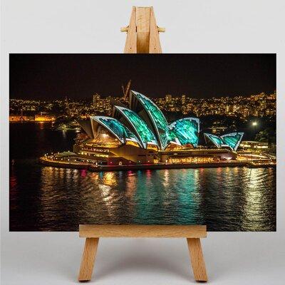 Big Box Art Sydney Opera House Harbour Australia No.15 Photographic Print on Canvas