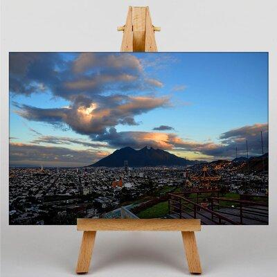 Big Box Art Monterrey Mexico Photographic Print Wrapped on Canvas