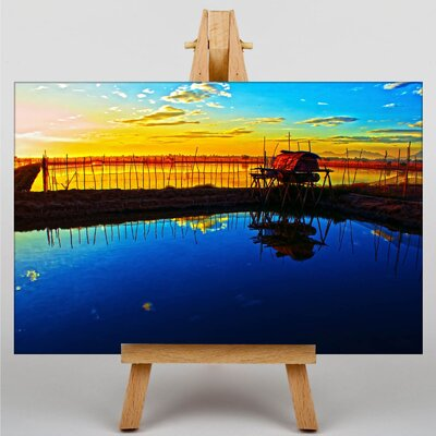 Big Box Art Silent Sunrise No.2 Photographic Print Wrapped on Canvas