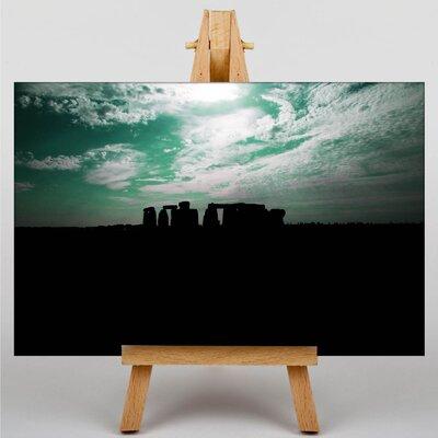 Big Box Art Stonehenge No.2 Photographic Print Wrapped on Canvas