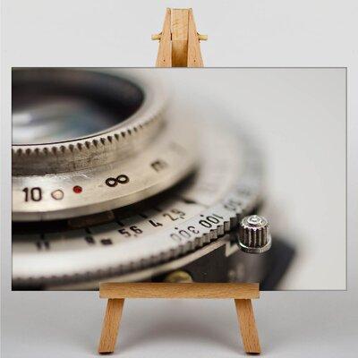 Big Box Art Lens Shutter Vintage Camera No.2 Photographic Print on Canvas