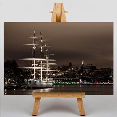 Big Box Art Sweden Landscape No.8 Photographic Print on Canvas