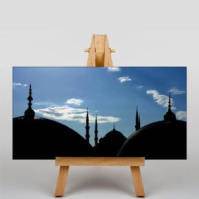 Big Box Art The Blue Mosque Istanbul No.2 Photographic Print on Canvas