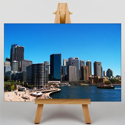 Big Box Art Sydney Australia Skyline Photographic Print Wrapped on Canvas