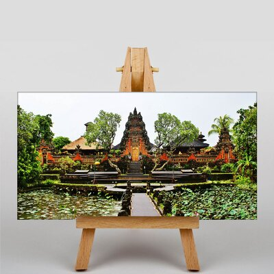 Big Box Art Ubud Temple Indonesia Photographic Print Wrapped on Canvas