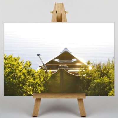 Big Box Art Paddle Boat Photographic Print Wrapped on Canvas