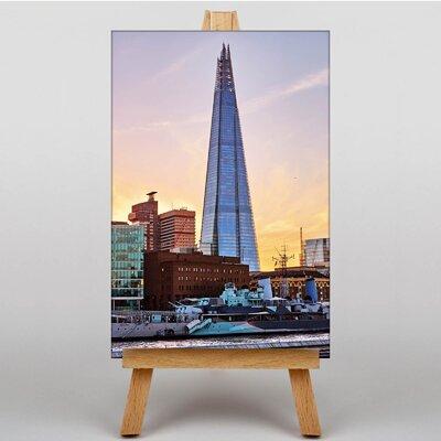 Big Box Art The Shard London No.2 Photographic Print on Canvas