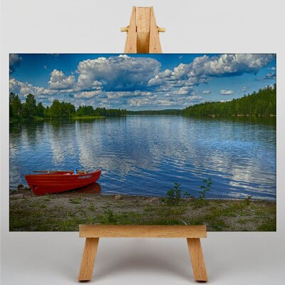Big Box Art Sweden Landscape No.12 Photographic Print Wrapped on Canvas