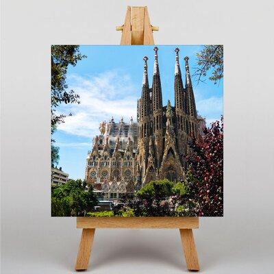 Big Box Art Sagrada Familia Barcelona Spain Photographic Print Wrapped on Canvas