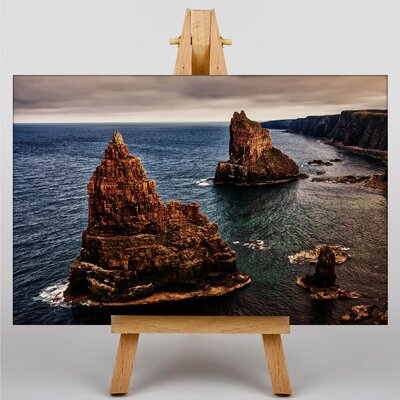 Big Box Art Stacks of Duncansby Scotland Photographic Print on Canvas