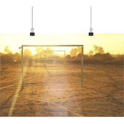 Big Box Art Football Goals Photographic Print