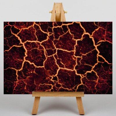 Big Box Art Lava Volcano Graphic Art