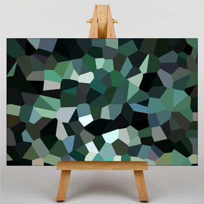 Big Box Art Crystallise Abstract No.1 Graphic Art Wrapped on Canvas