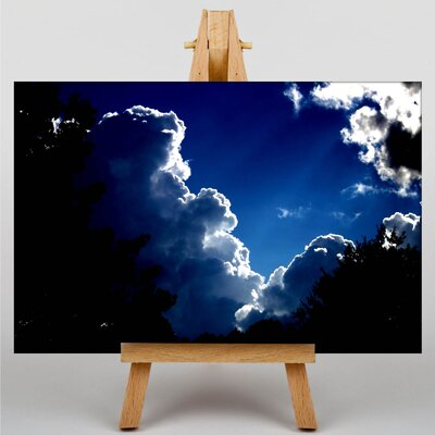 Big Box Art Sky Clouds No.3 Graphic Art Wrapped on Canvas