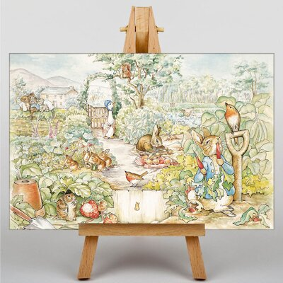 "Big Box Art ""Peter Rabbit"" by Beatrix Potter Graphic Art on Canvas"