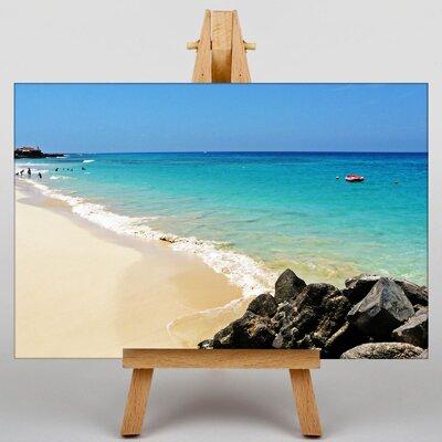 Big Box Art Cape Verde Beach Photographic Print on Canvas