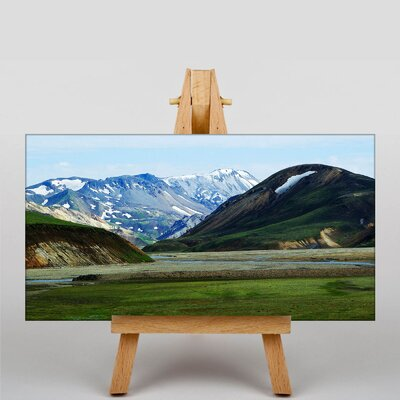 Big Box Art Iceland Landscape No.1 Photographic Print Wrapped on Canvas