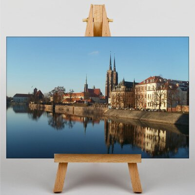 Big Box Art Wroclaw Poland No.2 Photographic Print on Canvas