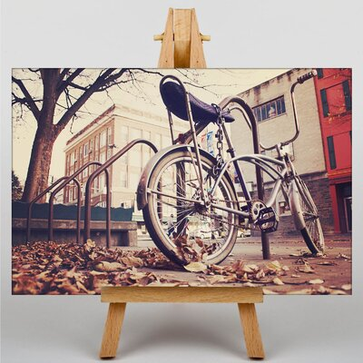 Big Box Art Chopper Bike Bicycle No.1 Photographic Print on Canvas
