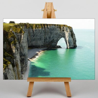 Big Box Art Etretat Normandy France No.2 Photographic Print Wrapped on Canvas