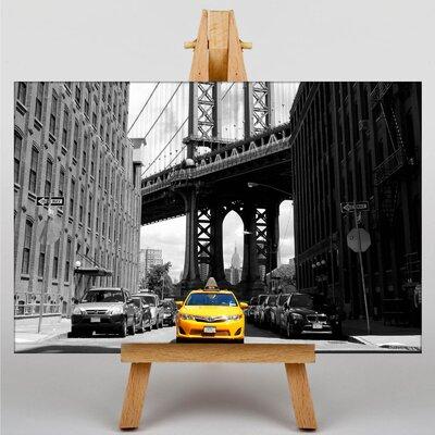 Big Box Art Yellow Taxi Cab New York City No.2 Photographic Print on Canvas