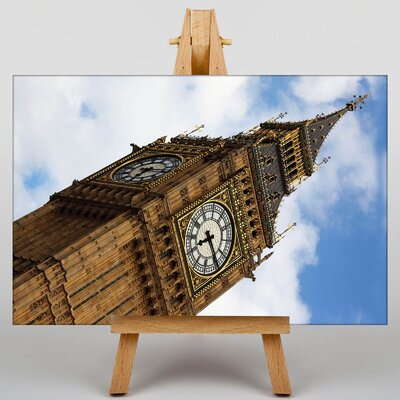 Big Box Art Big Ben London No.2 Photographic Print Wrapped on Canvas
