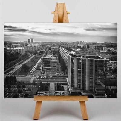 Big Box Art Belgrade Serbia Photographic Print Wrapped on Canvas