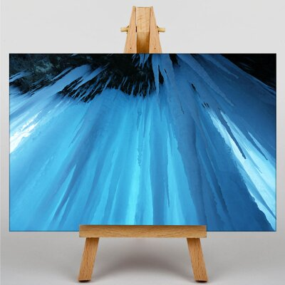 Big Box Art Icicles Graphic Art Wrapped on Canvas